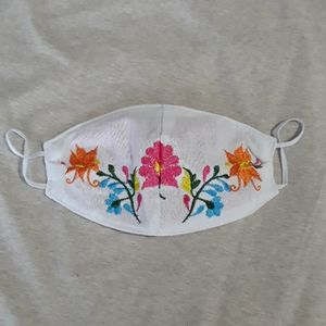 Mexican Embroidered Face Mask